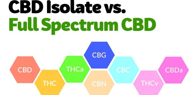 CBD Oil: CBD Isolate vs. Full Spectrum CBD & Broad Spectrum CBD
