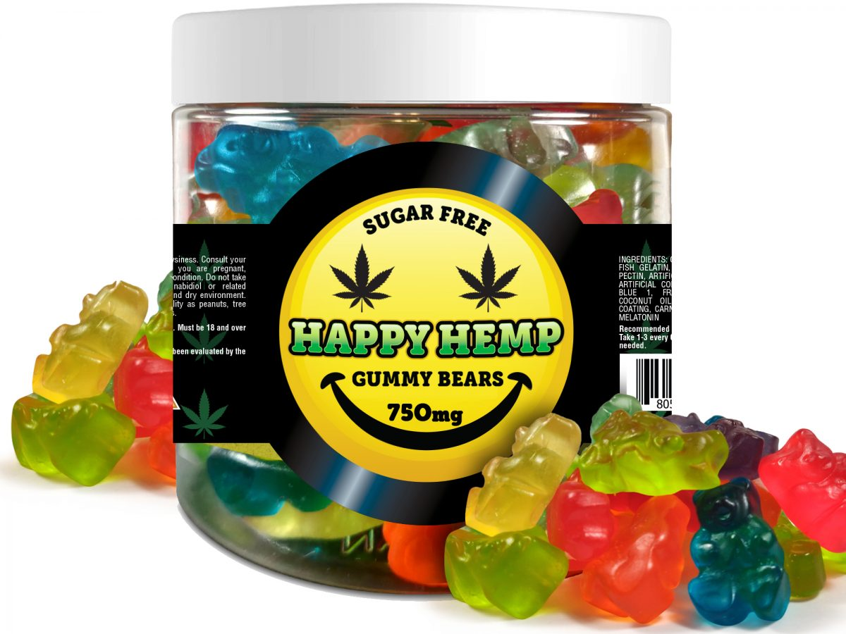 Happy Hemp CBD Gummies