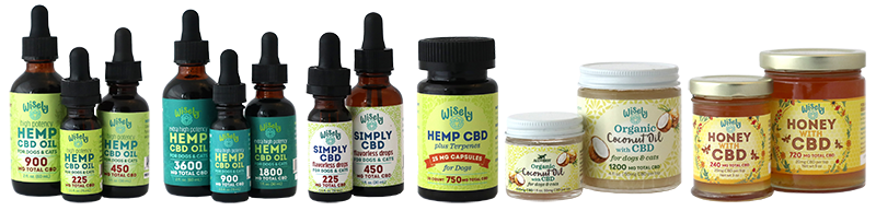 All the Best Wisely Organic Coconut Oil with CBD for Cats
