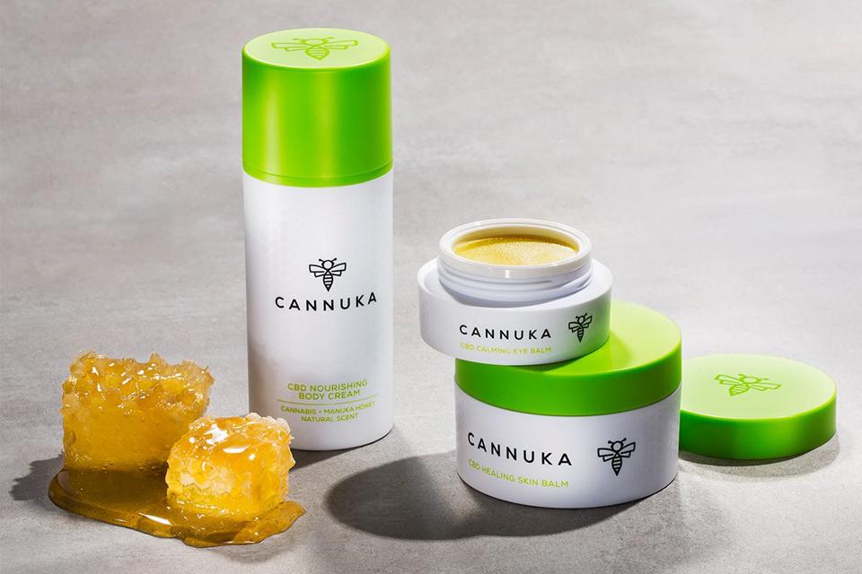 Cannuka CBD skin care Calming Eye Balm