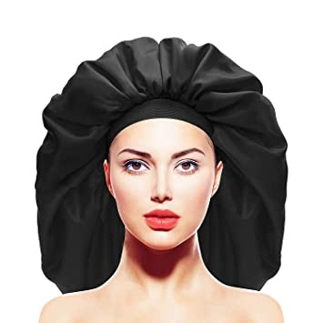 best satin hair bonnet