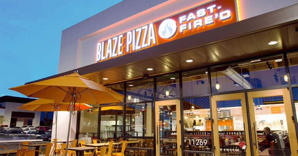 Blaze Pizza keto friendly restaurants