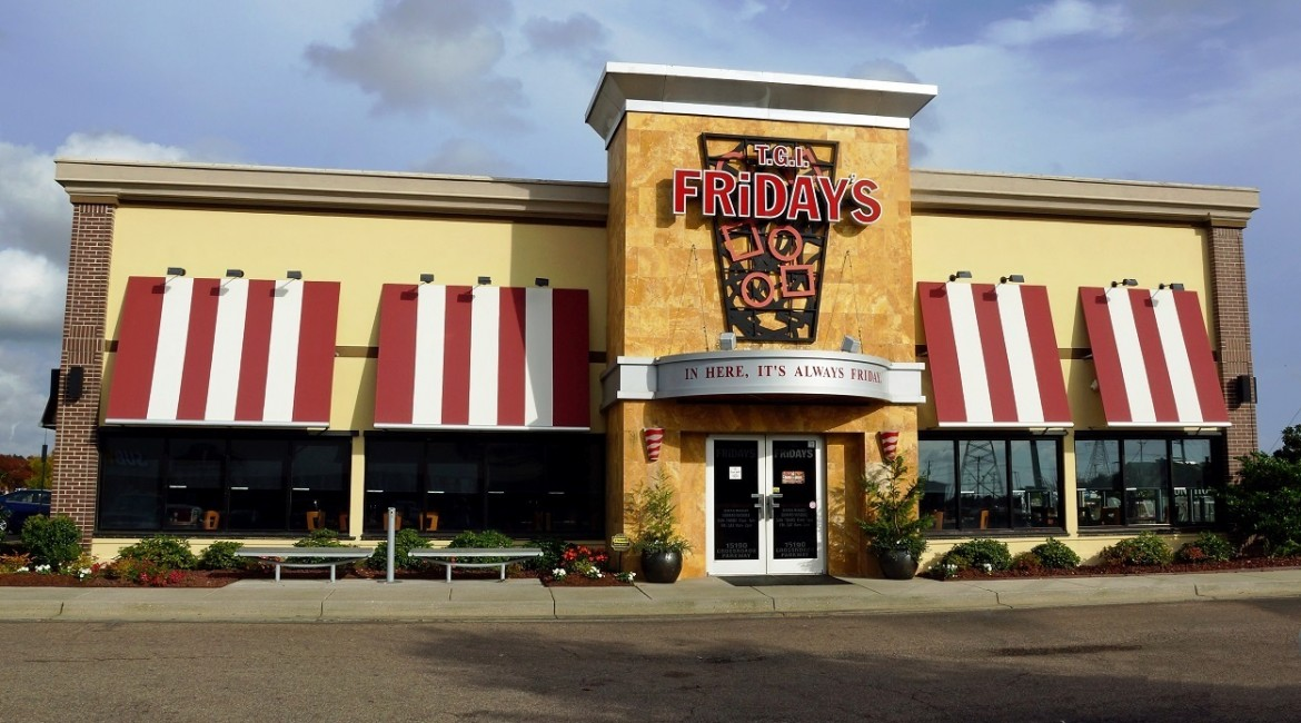 TGI Fridays keto friendly restaurants
