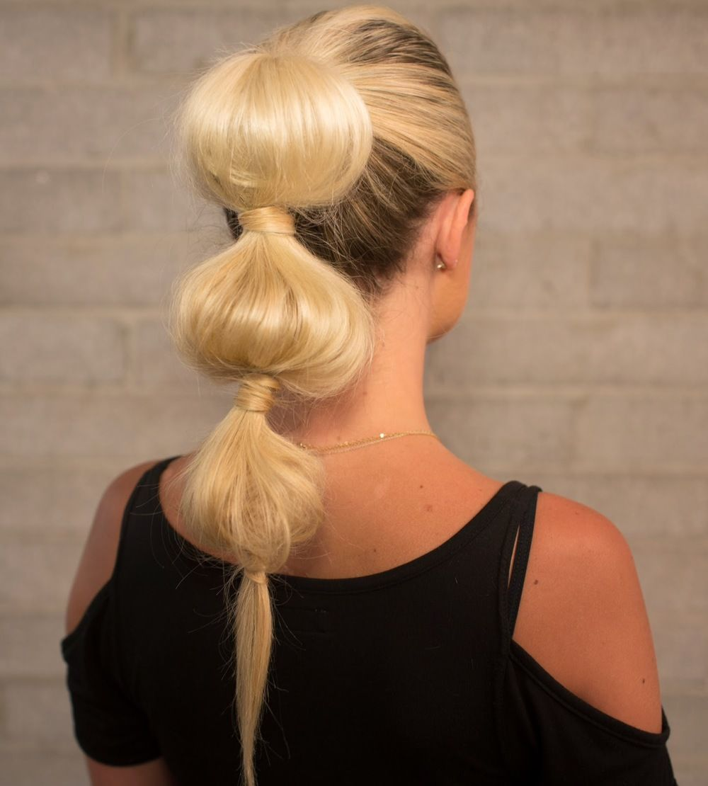 Big Bubble Ponytail