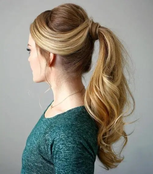 Retro Long Ponytail