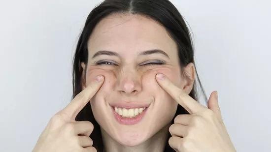 Cheekbone lift face fat