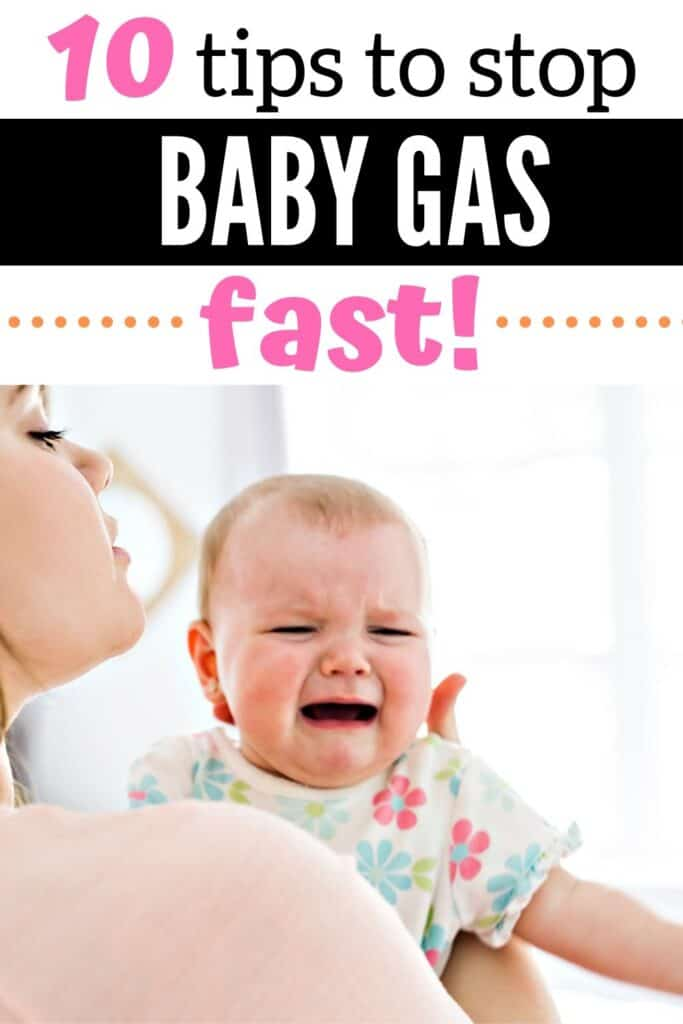 Gassy Baby: Gas in Breastfed Babies