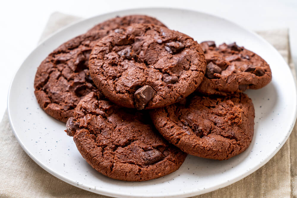 keto-double-chocolate-chip-cookies