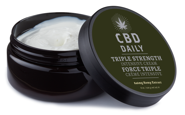 CBD Daily Intensive Cream cbd lotion