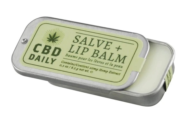 CBD Salve + Lip Balm cbd lotion