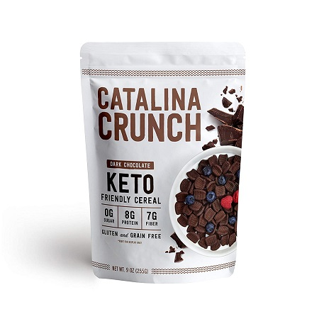 Catalina crunch keto cereal