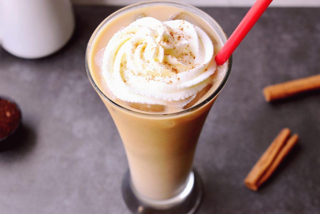 Cinnamon Dolce caffe latte Breakfast Smoothie