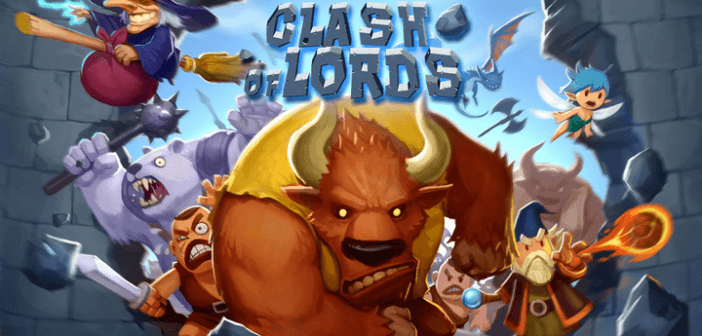 Clash of Lords 1 and 2 clash of clans