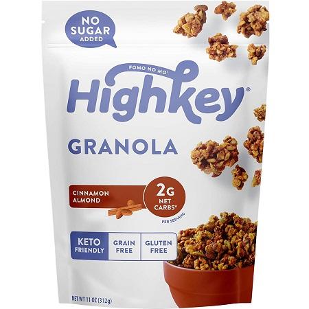 Granola-style keto cereal