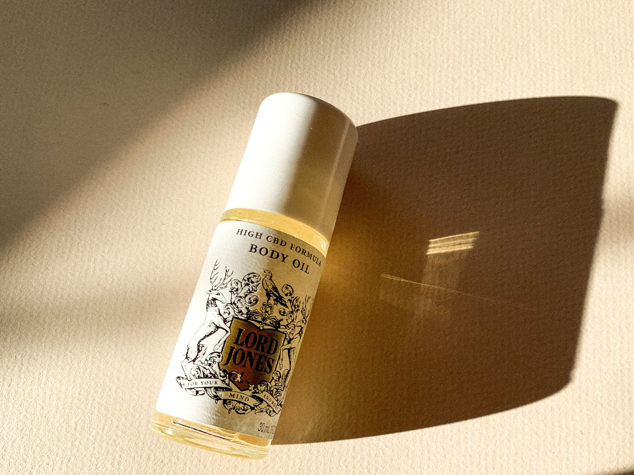 Lord Jones High CBD formula body oil