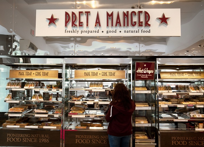 Pret A Manger Keto Friendly Restaurants