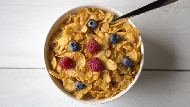 Protein breakfast cereal