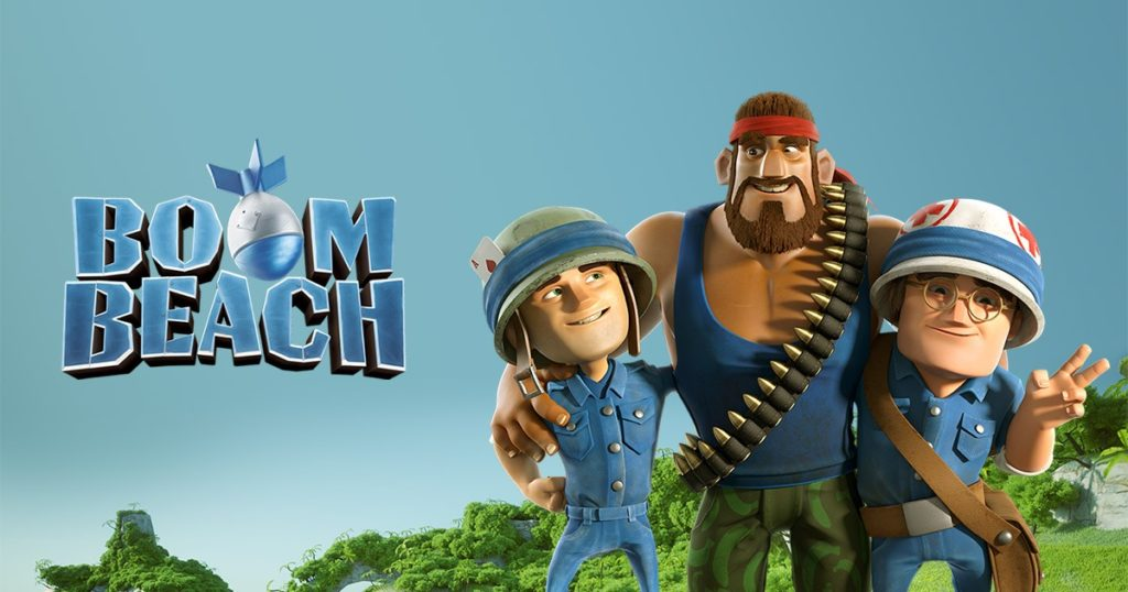 boombeach 10 Clash of Clans related Games