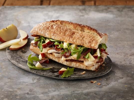 At Panera Bread Sandwiches