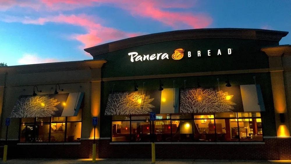 At Panera Bread