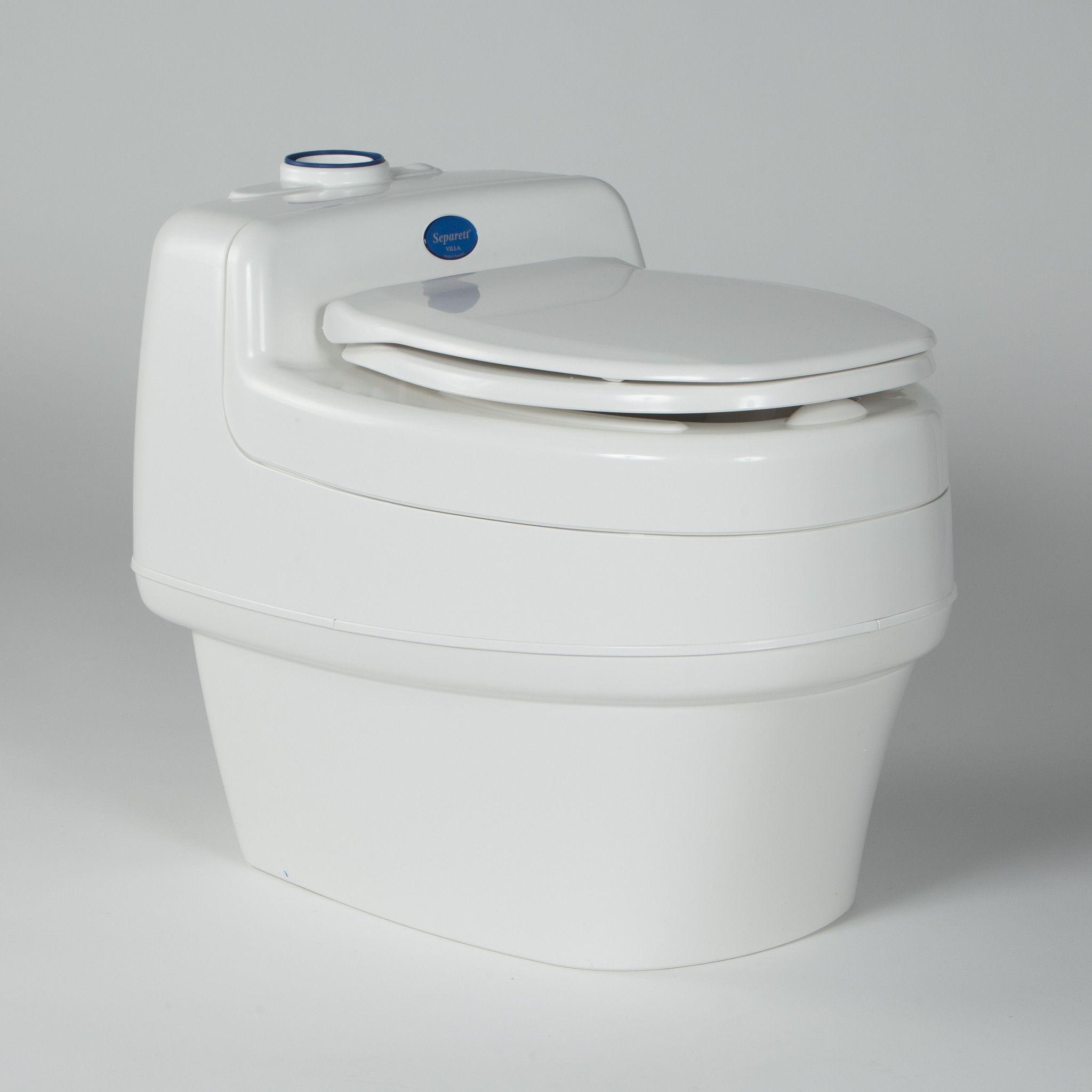 Villa composting toilets