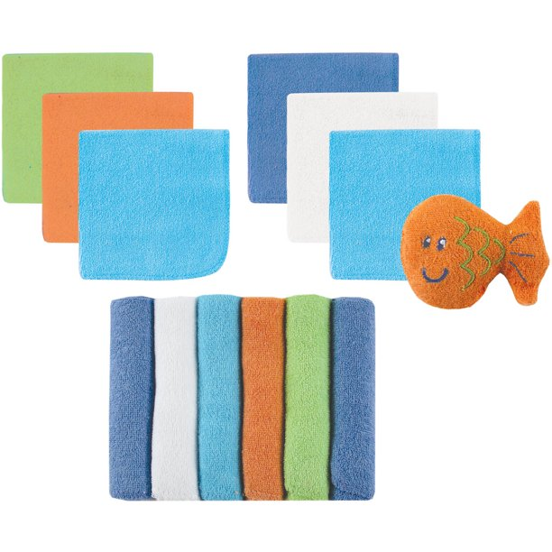 12-Pack Washcloths Luvable Friends