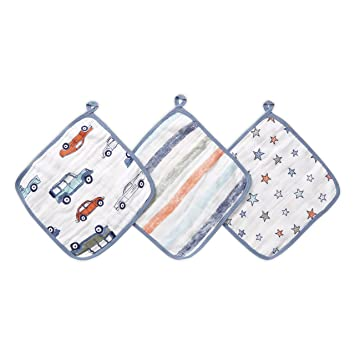 Baby Washcloths Set Aden + Anais (3 Pack)