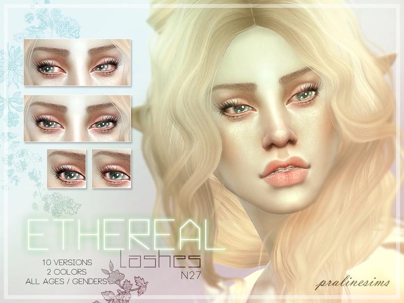 Ethereal Lashes N27 4 eyelashes cc