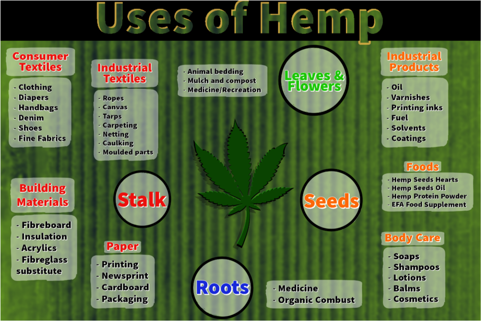 Hemp be Used For