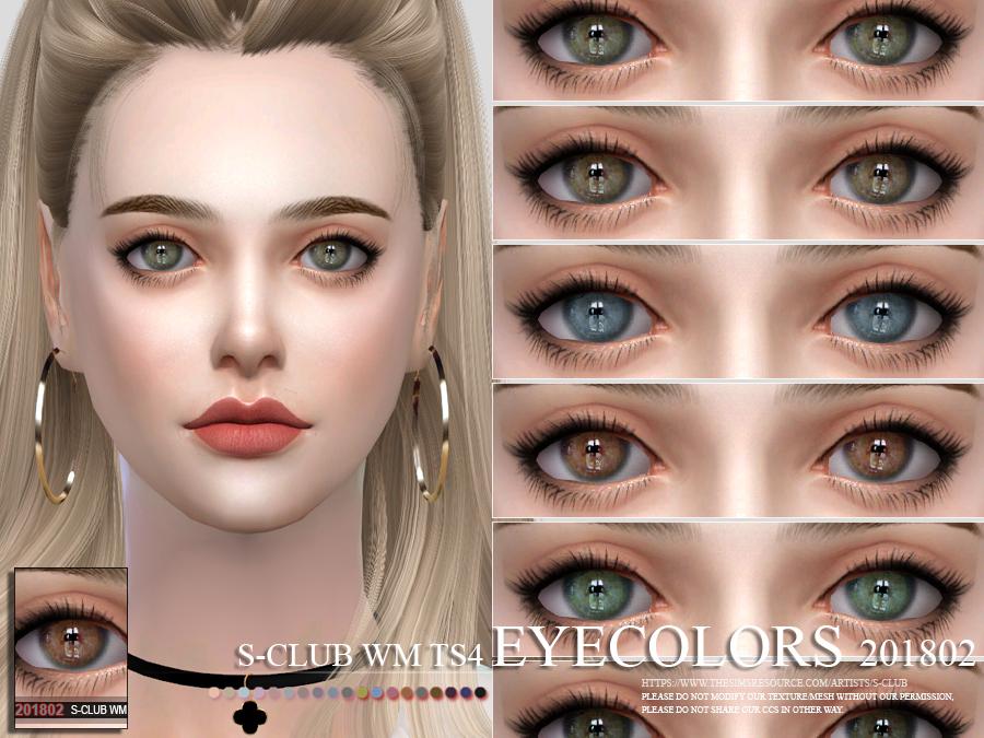 4 eyelashes1 cc