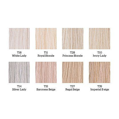 Wella Color Charm chart Silver Toners