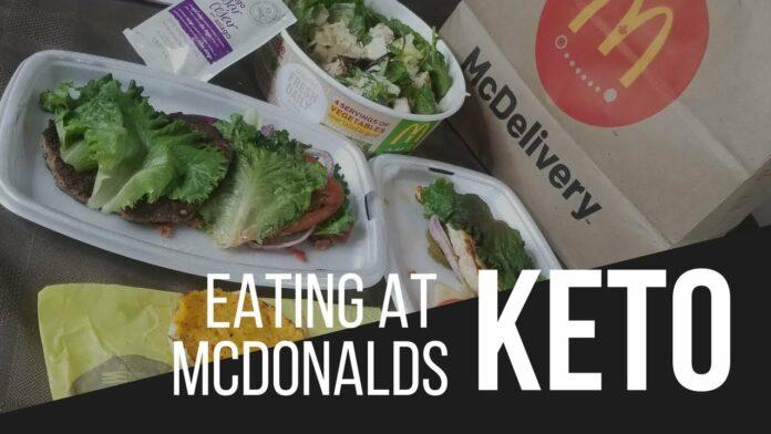 Keto At McDonald's