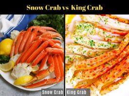 Difference Between Snow Crab and King Crab?