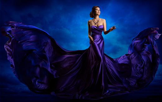 Purple and Blue are complementary colors