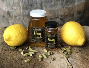 Lemon-Cardamom Infused Honey Yogurt Topping